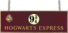 Harry Potter Hogwarts Express Wooden Sign