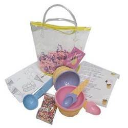 Kid's Mini Sundae Kit « Groovykids's Weblog :  kids mini sundae kit kit kid sundae