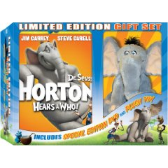 Horton Hears a Who! DVD Gift Set with Plush and Audio Storybook CD