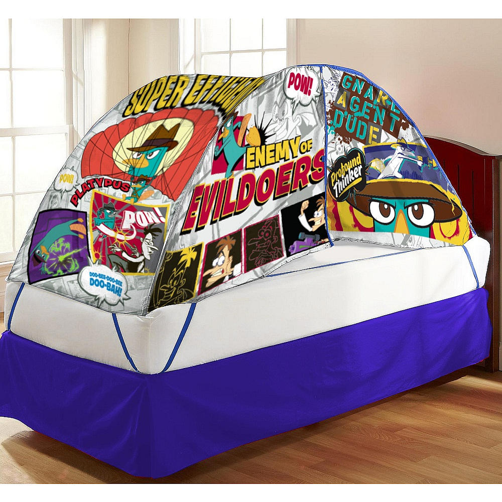 Disney Phineas and Ferb Bed Tent with Pushlight  sc 1 st  Groovy Kids Gear & Disney Phineas and Ferb Bed Tent with Pushlight - Groovy Kids Gear